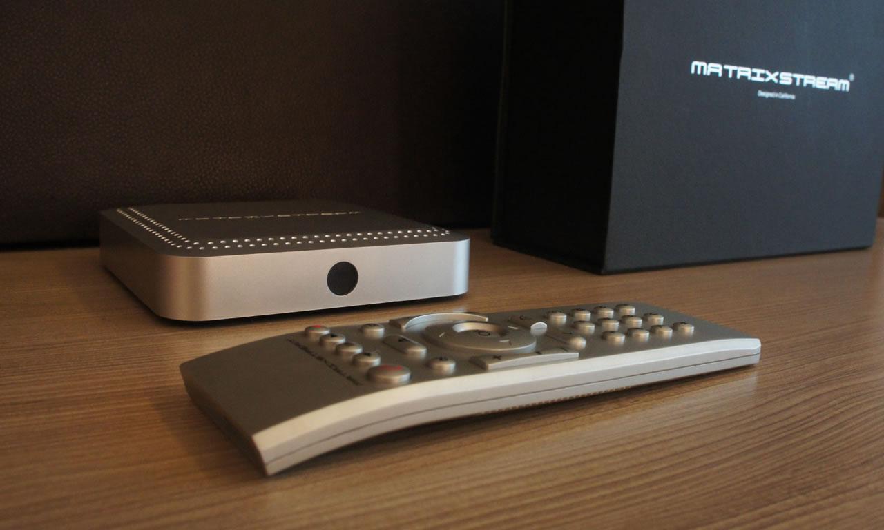 MatrixStream - MX 3 OTT UHD IPTV Set Top Box (STB)